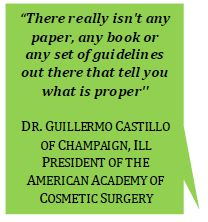 liposuction quote from person